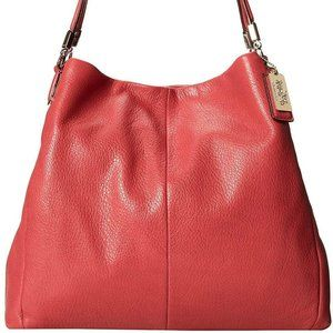 Coach Madison Phoebe Leather Shoulder Bag NWT